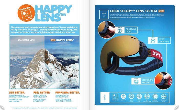 SPY Happy Lens Snow