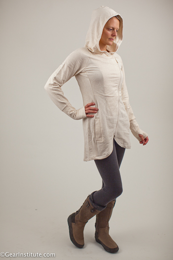 Cushes Quilty Conscience with Tadasana Wrap-Ture Tunic from The North Face