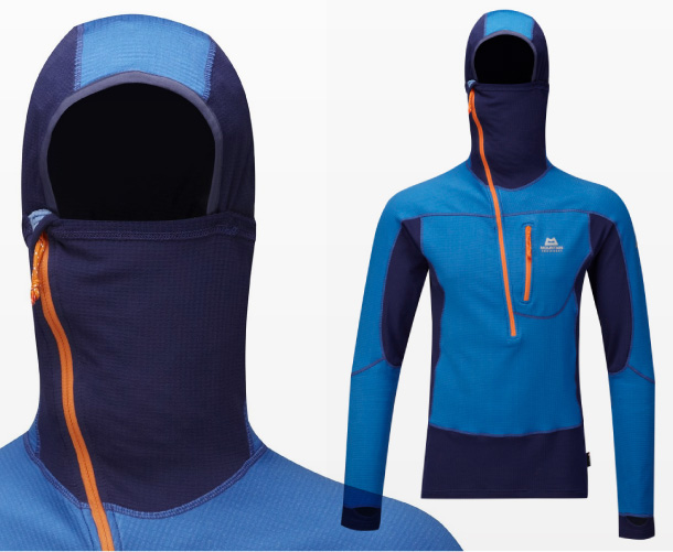 Mountain Equipment Eclipse Hooded Zip-tee