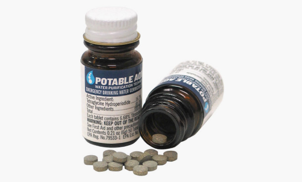 zombie Potable Aqua Tablets