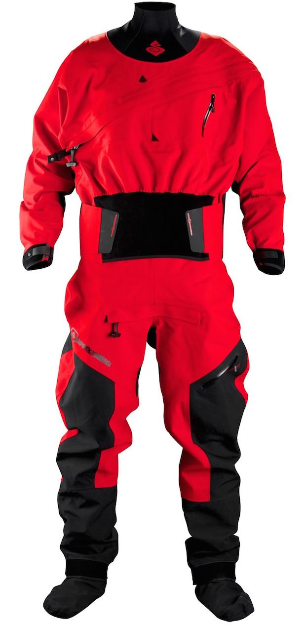 intergalactic dry suit-scorch red-front 2
