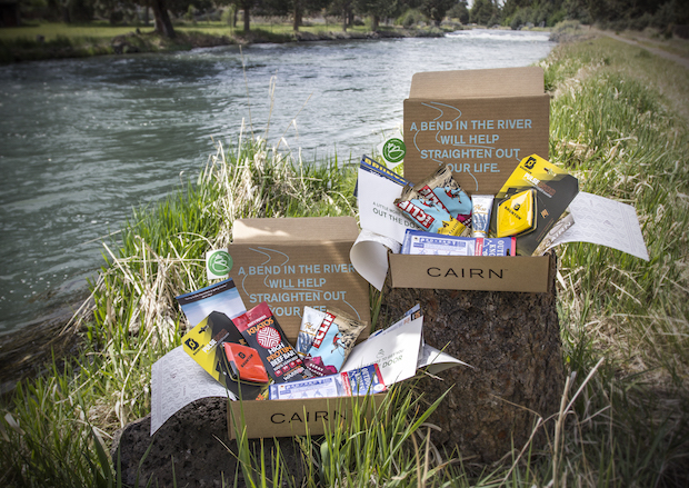 Cairn is a monthly subscription box for outdoor gear for Fly fishing subscription box