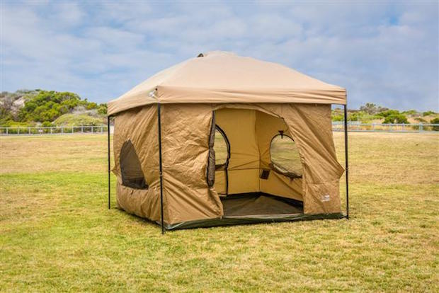 Standing Room Tentsu0027 website directs you to Amazon where the pricing for the tents themselves is fairly reasonable u2013 $139.99 for the 64 and 100 models and ... & Stand Tall in a Standing Room Tent | Gear Institute