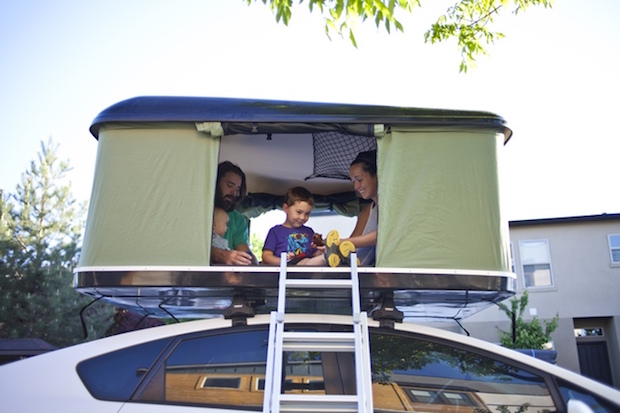 the blackfin camper box is a roof top tent for nearly any. Black Bedroom Furniture Sets. Home Design Ideas