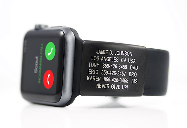 RoadID AppleWatch Black 1