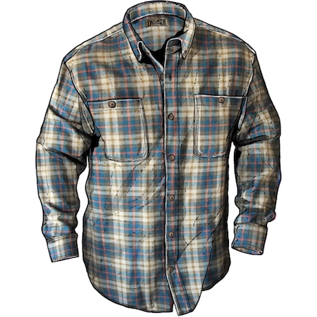 Duluth Trading Free Swingin Flannel Shirt