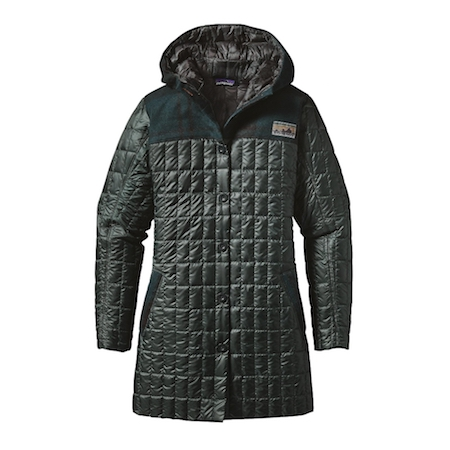 Patagonia Womens Recycled Down Hooded Coat