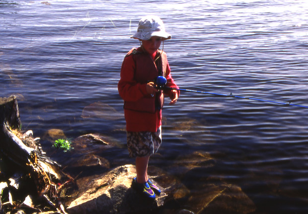 Fly fishing can be pure child s play gear institute for Kids fishing gear