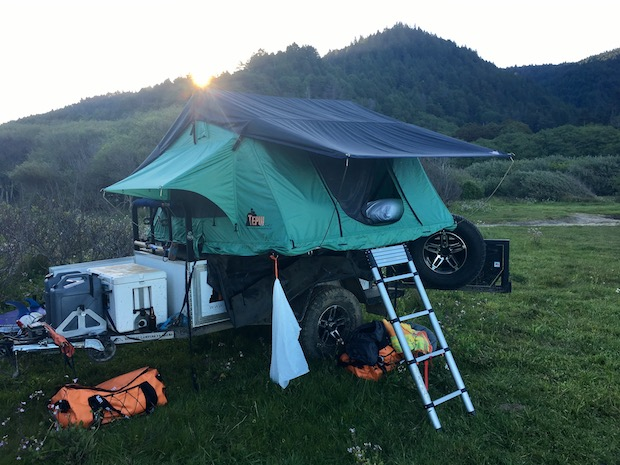 Spending The Night In A Tepui Roof Top Tent Gear Institute