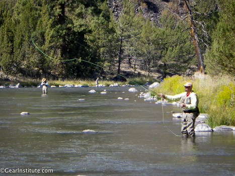 2Dan Nelson with the Redington Link on the Crooked River