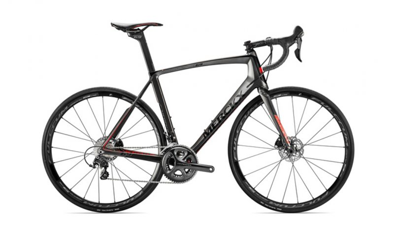 Eddie Merckx Mourenx 69 Black Anthracite Red