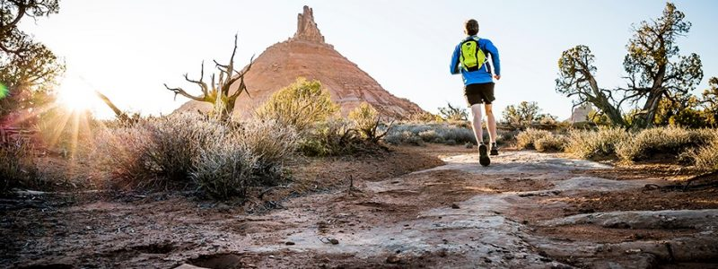 Mychal McCormick - trail running - Indian Creek, Utah