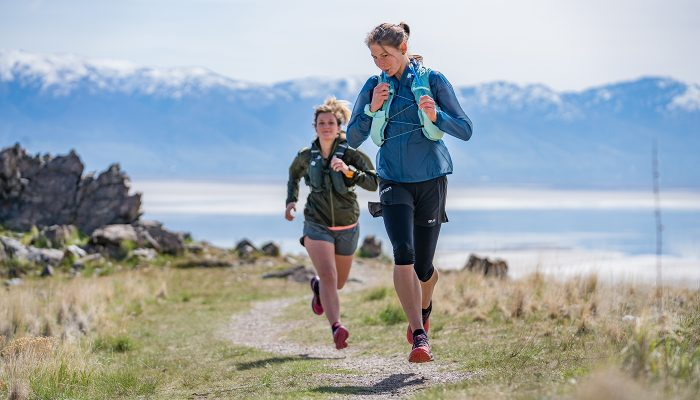New hydration packs designed for women runners
