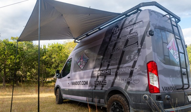 Moon Fabrications Launches Site And The MoonShade – A Simple, Portable Awning
