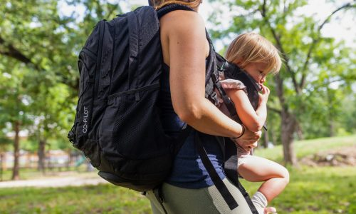 First Look: JP Outdoor Co. CoPilot – The First Front Side Baby Carrier Built Into A Backpack