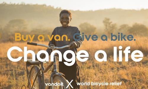 Adventure Van Company Vandoit Rebrands with A Bicycle Giving Initiative