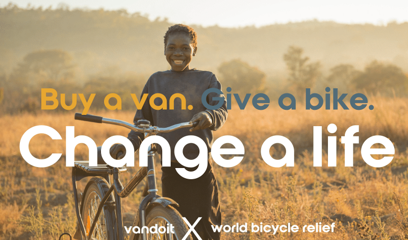 Adventure Van Company Vandoit Rebrands with A Bicycle Giving Initiative