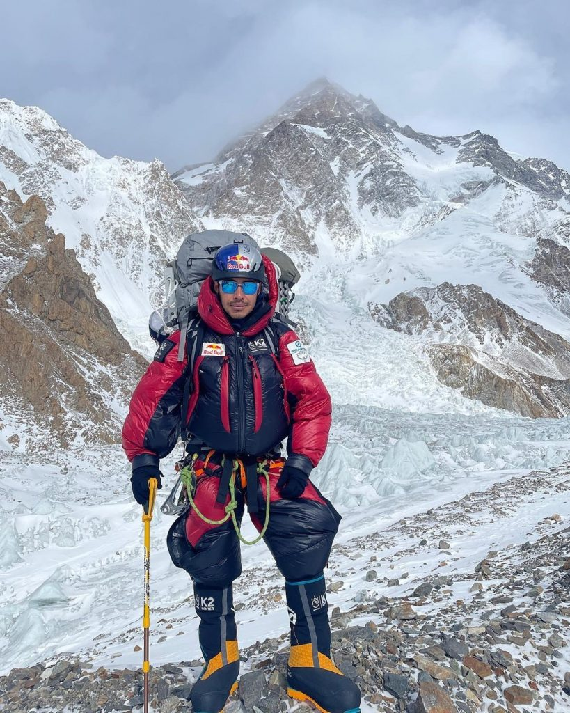 Purja on K2