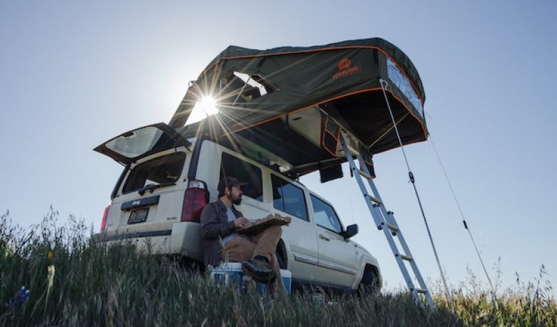 The Roof-Top Tent Just Got Cooler