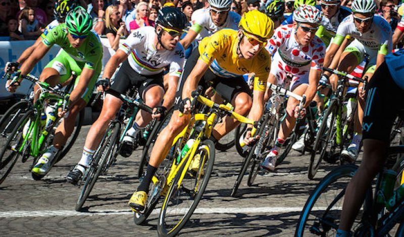 Ride Like A Tour de France Pro In These Cycling Jerseys