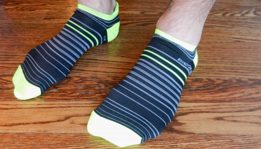 Brooks Launch socks.