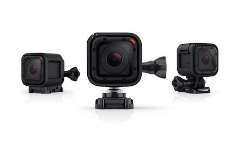 Video: GoPro's Hero 4 Session is a Tiny Wonder