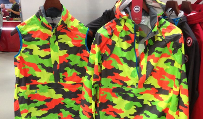 Canada Goose Introduces A Highly Visible Rain Shell