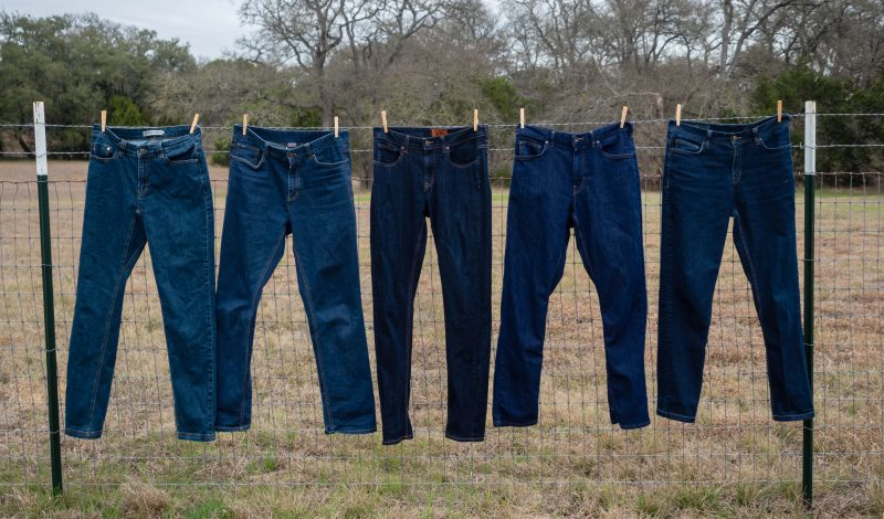 Selection of featured Men's slim fit denim jeans