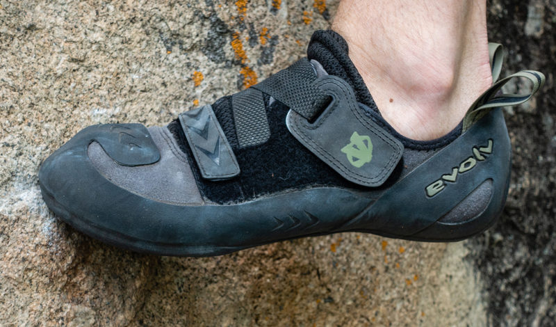Evolv Kronos: The Goldilocks of rock shoes