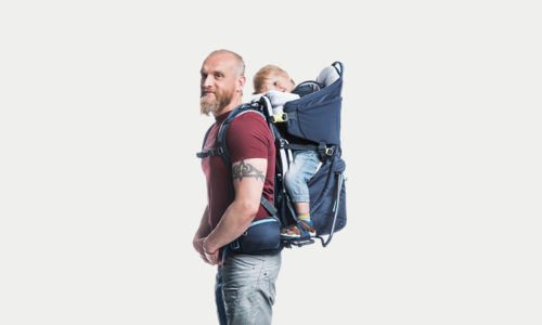 Tiny hikers: Deuter packs put kids on your back