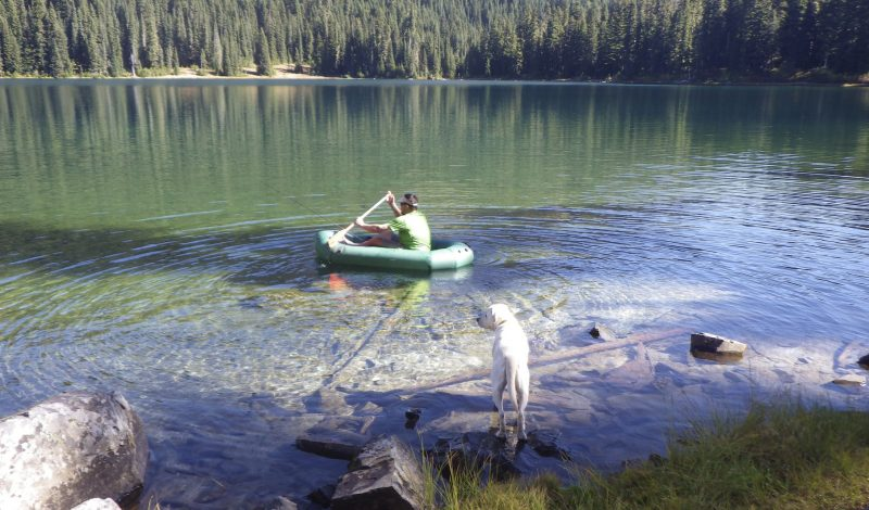 NRS Pack Raft makes backcountry fishing easier