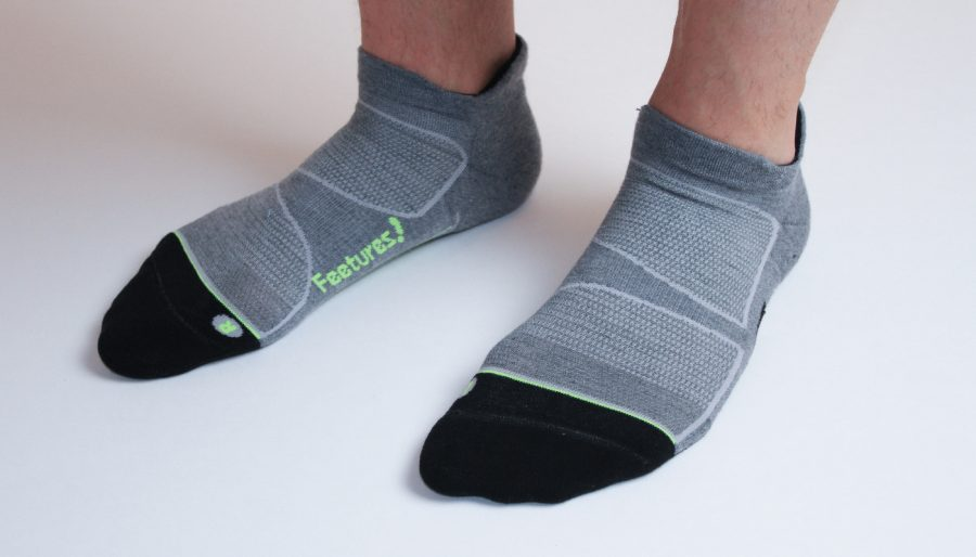 Feetures Elite MX socks.