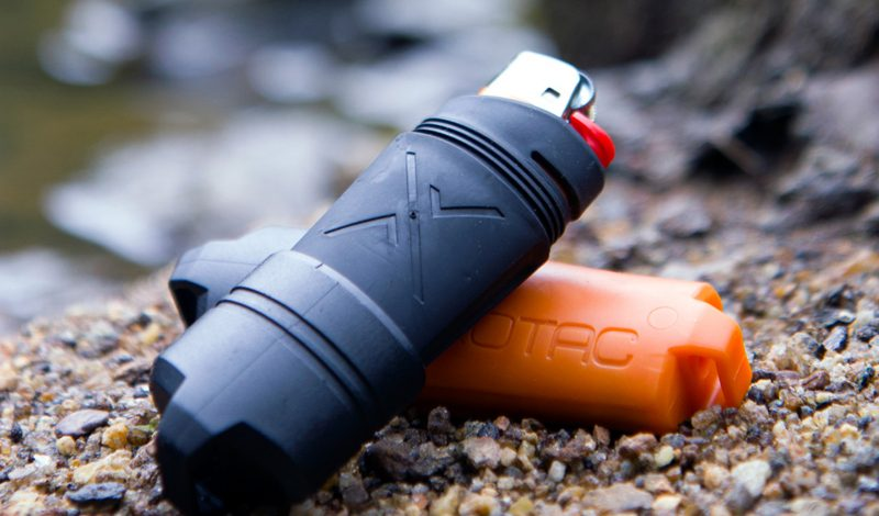 FireSleeve improves lighters' reliability