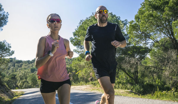 Rudy Project provides lightweight eye protection for runners