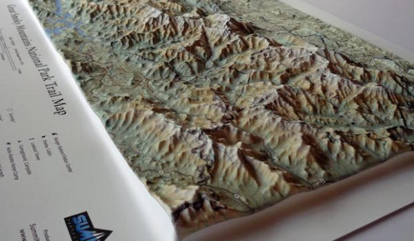 New Map Presents Great Smokey Mountains National Park in 3D