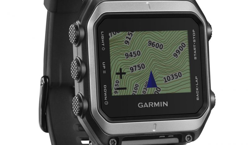 Garmin Epix offers handy navigational aids for adventurers