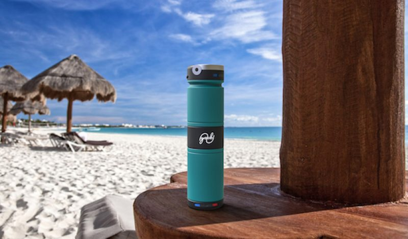 Carry Hot and Cold Beverages at the Same Time with This Water Bottle