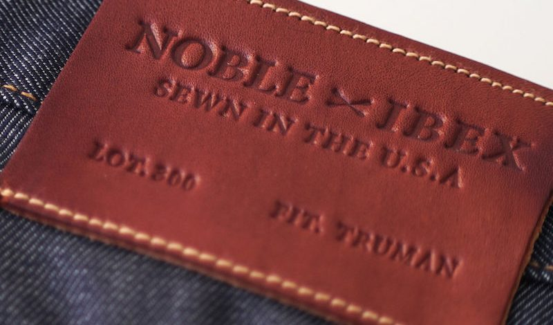 A Limited Edition Wool Denim Blend Jean from Ibex