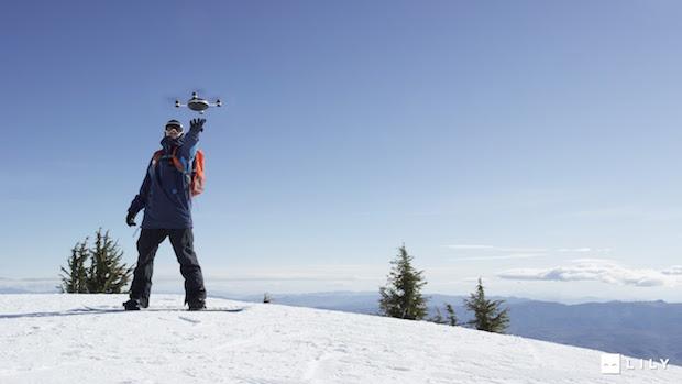 Meet Lily, the autonomous drone that captures your outdoor adventures