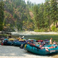 The Making of a Comfortable Camp: River Runner Edition