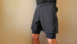 side view of Montane 2SK trail run short