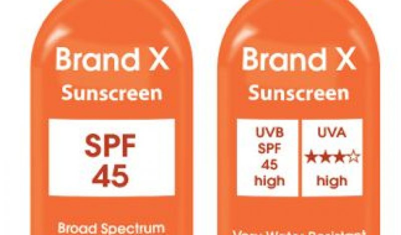 FDA Steps Up on Sunscreens