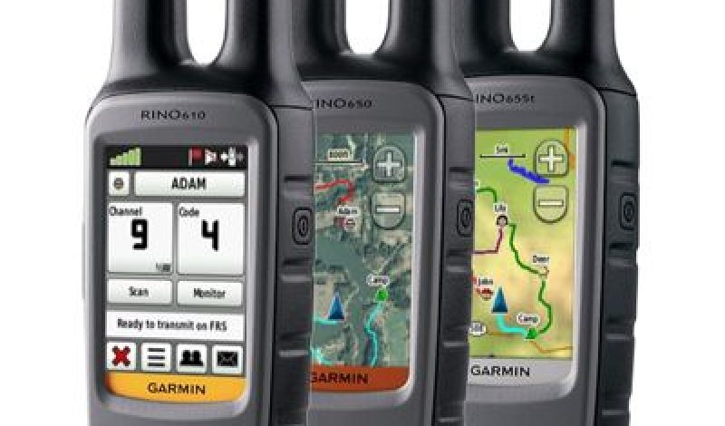 Garmin Rolls Out New Rino at Teva Games