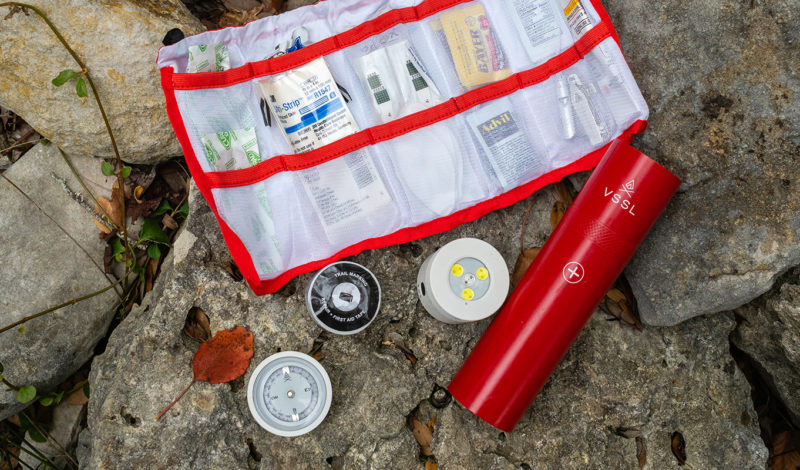 VSSL First Aid: Crossing a flashlight with a first aid kit