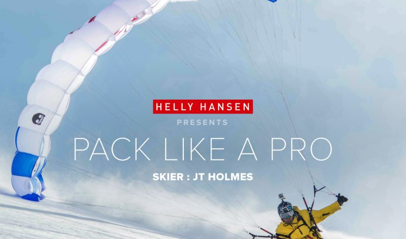 Pack Like a Pro: JT Holmes films his flights