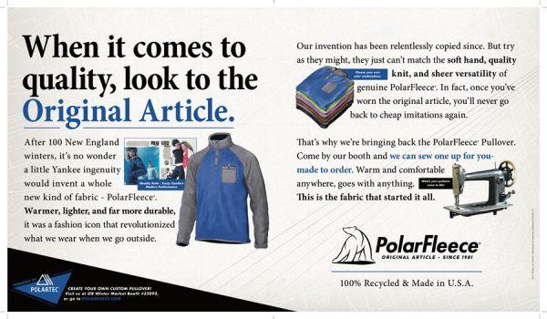 Polartec PolarFleece Is Making a Comeback