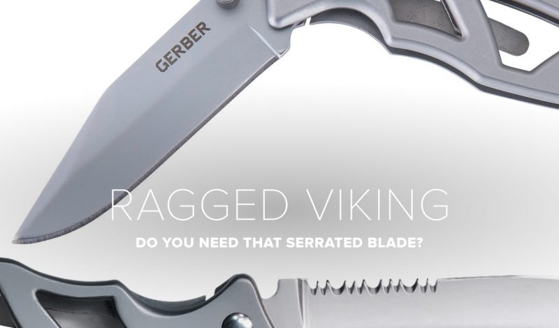 Solving the dilemma of serrated blades