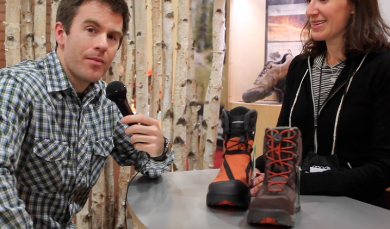 Video: Vasque's new winter boot with integrated gaiter
