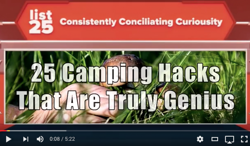 GearBait: 25 Must-Know Camping Hacks