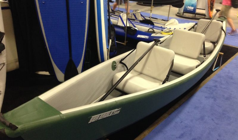 Sea Eagle Introduces Inflatable Travel Canoe